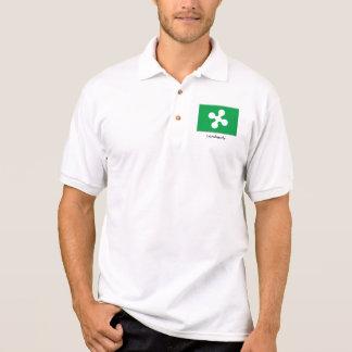 Camisa Polo Pólo de Lombardy-Italia