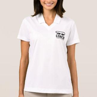 Camisa Polo Pólo do Dri-ajustado das mulheres de Nike para o