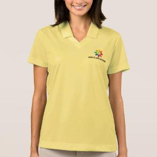 Camisa Polo Pólo do Dri-AJUSTADO de Nike das mulheres de HAfS