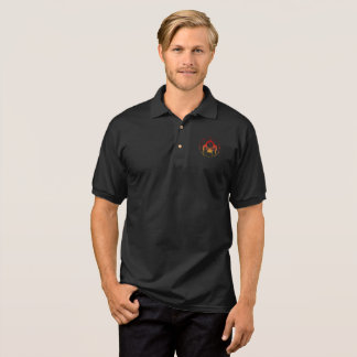 Camisa Polo Pólo do jérsei do Gildan de sete homens dos