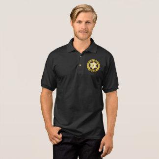 Camisa Polo Pólo do jérsei dos homens do AGENTE de APLICAÇÃO