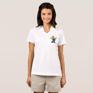 Camisa Polo Pólo do orgulho das mulheres