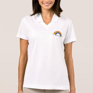 Camisa Polo Pólo do orgulho do arco-íris de LGBT