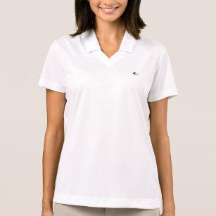 Camisa Polo Pólo do piqué do Dri-AJUSTADO de Nike da mulher da