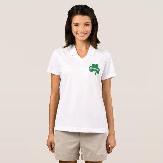 Camisa Polo Pólo do piqué do Dri-AJUSTADO de Nike das mulheres