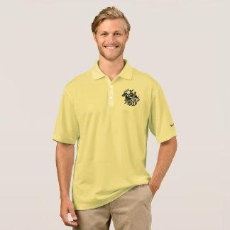 Camisa Polo Pólo do piqué do Dri-AJUSTADO de Nike dos homens