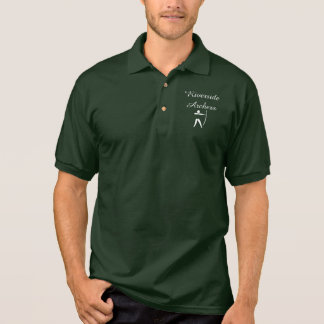 Camisa Polo Pólo do treinador principal do tiro ao arco