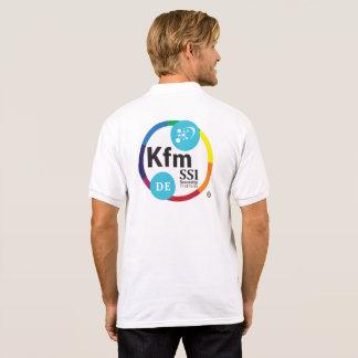 Camisa Polo Pólo dos homens com logotipo alemão de KFSSI