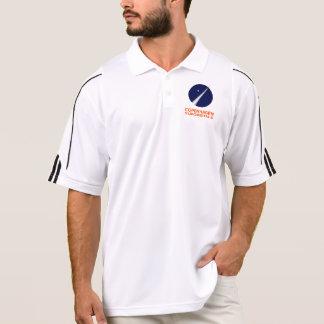 Camisa Polo Pólo dos homens com logotipo de Copenhaga