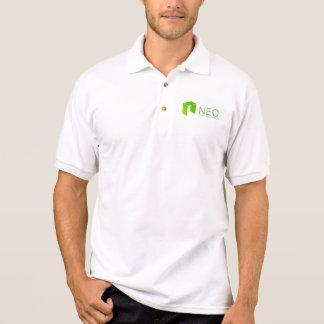 Camisa Polo Pólo NEO de Blockchain Cryptocurrency