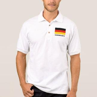 Camisa Polo Pólos feitos sob encomenda da bandeira alemão para