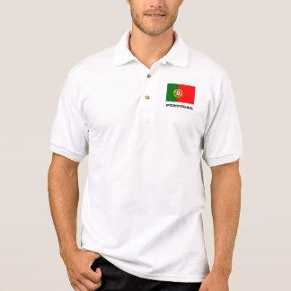 Camisa Polo Pólos feitos sob encomenda da bandeira de Portugal