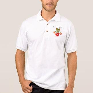 Camisa Polo Pólos impressionantes do mergulhador de Webe