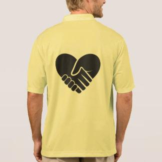 Camisa Polo Preto conectado amor