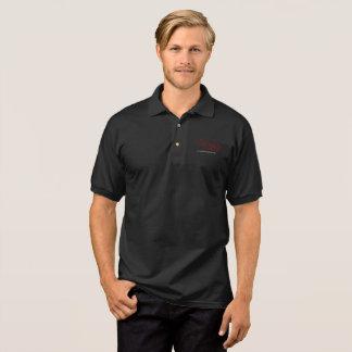 Camisa Polo preto humano de jesus