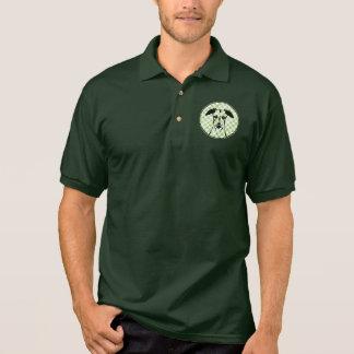 Camisa Polo Rua Patricks - silhueta de Whippet