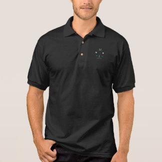 Camisa Polo simples & personalizou o logotipo do jogador de