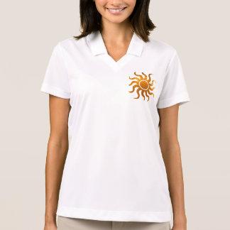 Camisa Polo SOL da faísca:  Pólo do piqué do Dri-AJUSTADO de