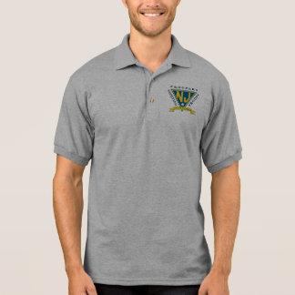 Camisa Polo Soldados que ajudam ao pólo das tropas