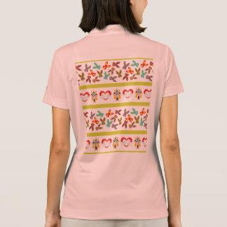 Camisa Polo Teste padrão psicótico da páscoa colorido