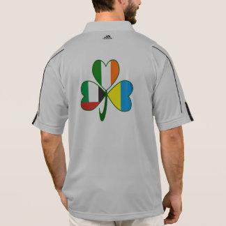 Camisa Polo Trevo dos UAE Ucrânia Ireland
