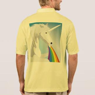 Camisa Polo Unicórnios puking da ilustração
