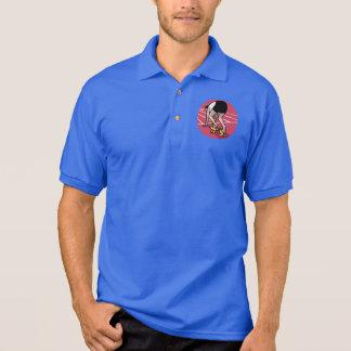 Camisa Polo Velocista engraçado