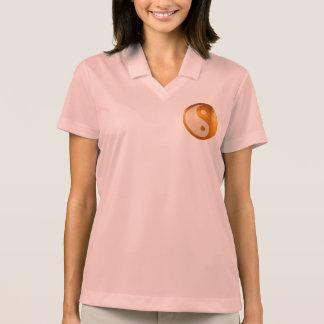 Camisa Polo YIN YANG YINYANG:  Pólo do piqué do Dri-AJUSTADO