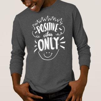 Camisa positiva de inspiração da luva das