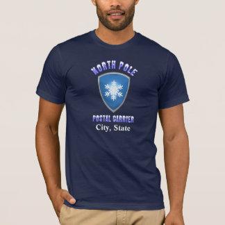 Camisa postal da caixa T do Pólo Norte