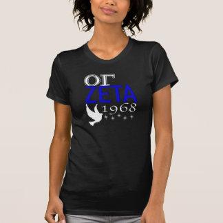 Camisa preta 1 do Zeta de OG Tshirts
