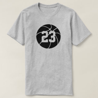 Camisa preta & branca do basquetebol dos homens do