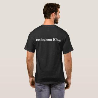 Camisa preta do fã do @hitthegram_