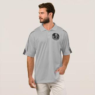 camisa preta do golfe do @TheTrumpPuppet