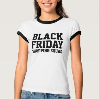 Camisa preta do pelotão t da compra de sexta-feira