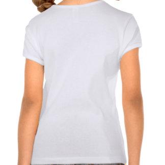 Camisa principal da menina do osso tshirts