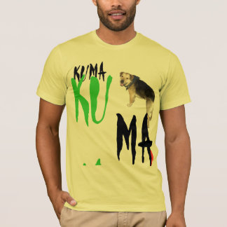 Camisa principal do monte t de Kuma