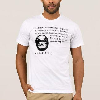 camisa procurando da filosofia T de Aristotle da