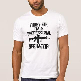 Camisa profissional do operador