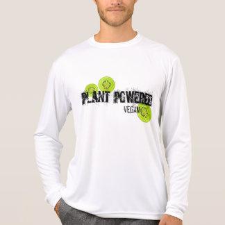 Camisa psta planta do quivi do Vegan
