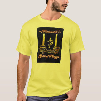 Camisa Racionais Amarela