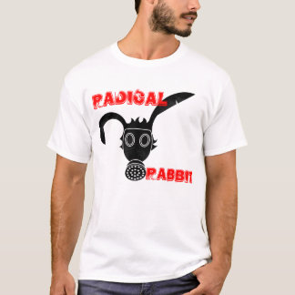 Camisa radical extremamente legal do coelho
