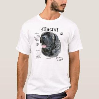 Camisa rajado da história do Mastiff