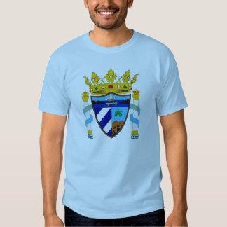 Camisa real do De Cuba do escudo T-shirt