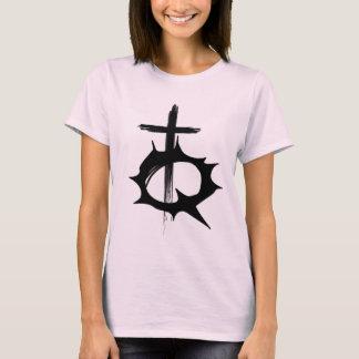 Camisa rebelde do logotipo da juventude somente