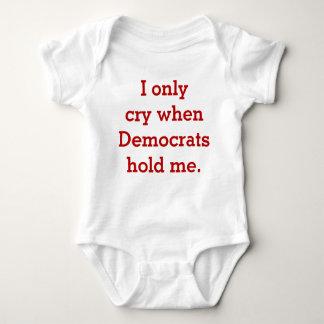 Camisa republicana ou conservadora do bebê