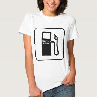 Camisa restrita diesel do T das mulheres T-shirts