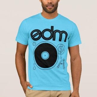 Camisa retro da plataforma giratória de EDM