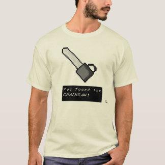 Camisa retro da serra de cadeia do Gamer
