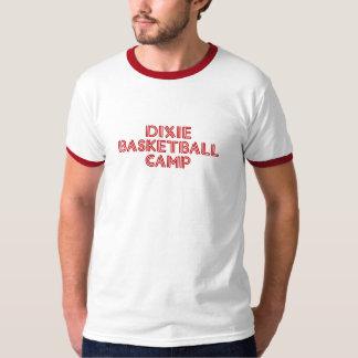 Camisa retro do acampamento do basquetebol de